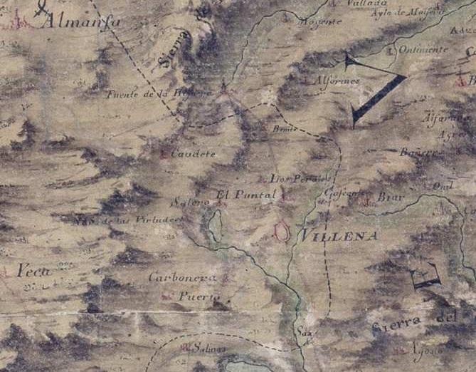 recorte plano 1739-1743